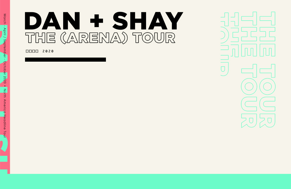 Dan + Shay Announce 2020 The (Arena) Tour Stopping In Omaha